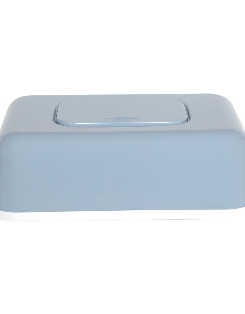 Boîte de mouchoirs/lingettes bleu