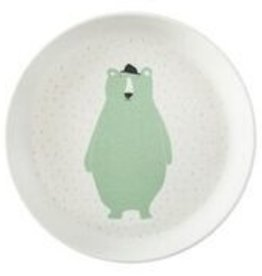 Trixie Tableware   Plate - Mr. Polar Bear - 95-361