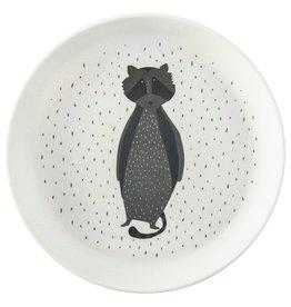 Trixie Tableware   Plate - Mr. Raccoon - 95-391