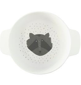 Trixie Tableware | Bowl with handles - Mr. Raccoon - 95-392