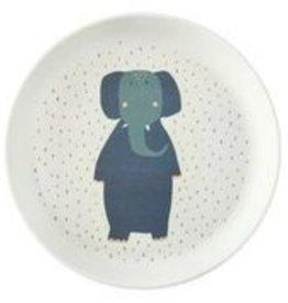 Trixie Tableware   Plate - Mrs. Elephant - 95-381