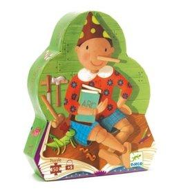 Puzzle silouhette - Pinocchio (50 pcs)