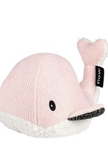 Flow Doudou battements de coeur - Moby the Whale rose
