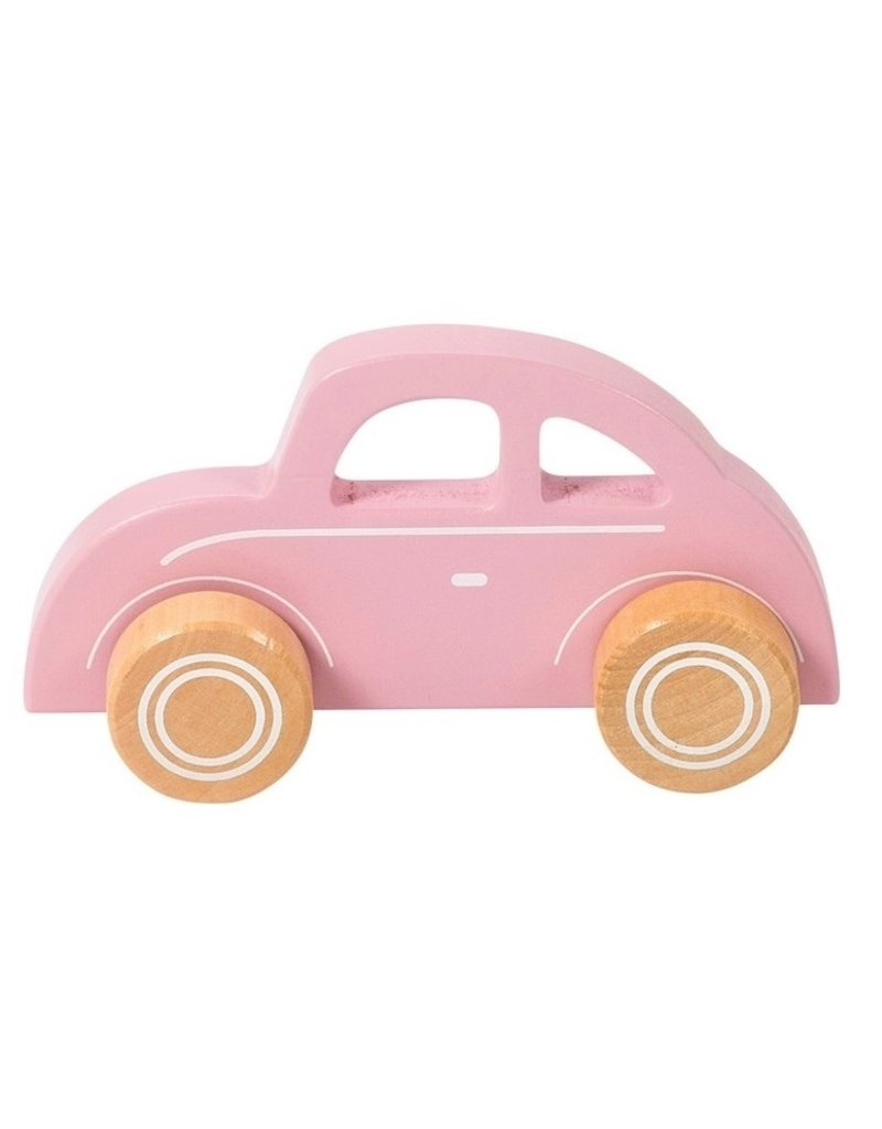 Little Dutch Voiture en bois -  pink