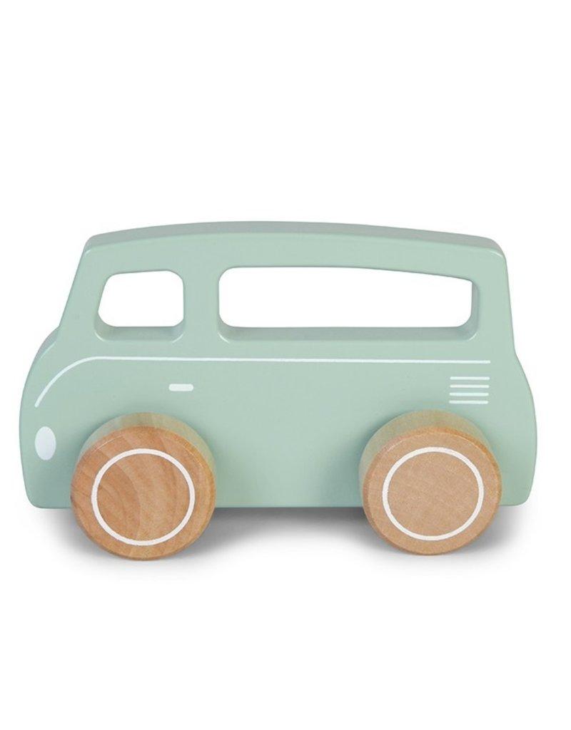 Little Dutch Van en bois - mint