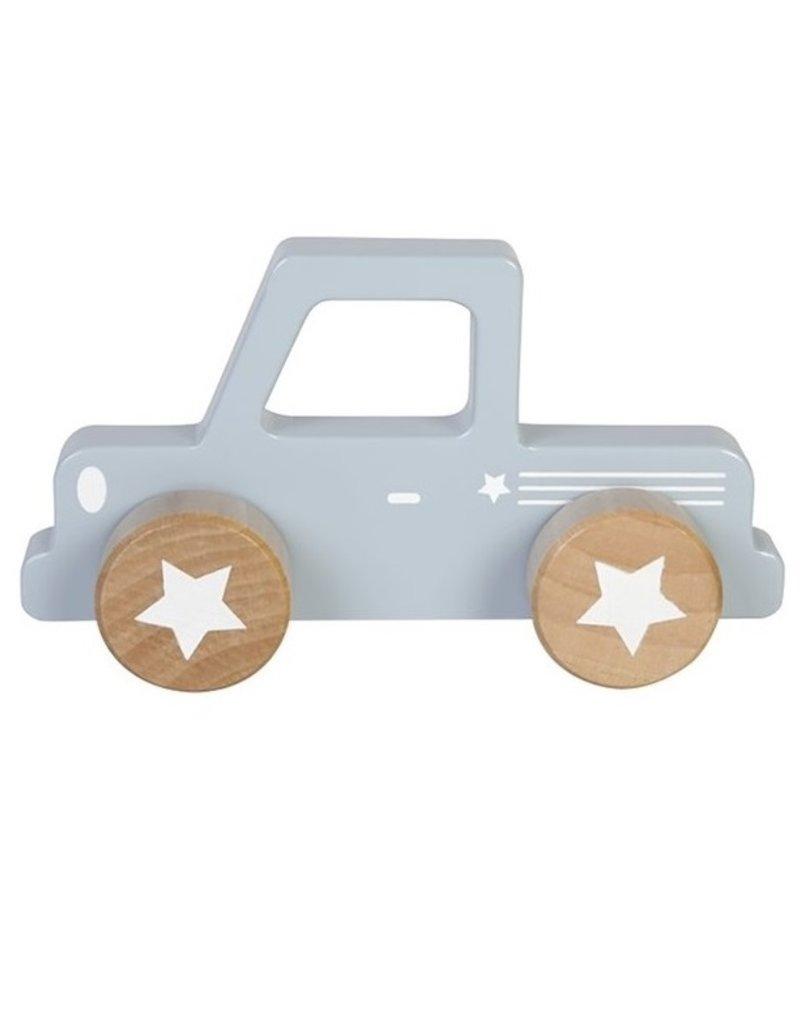 Little Dutch Pickup en bois - blue