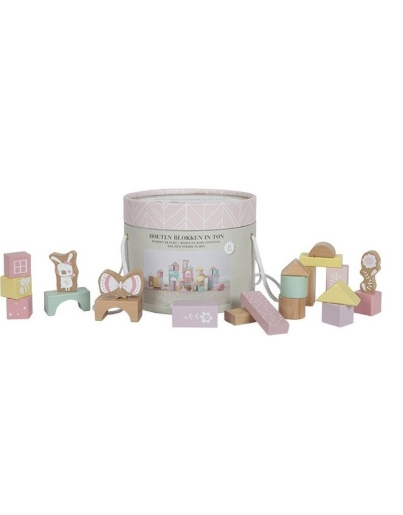 Little Dutch Blocs en bois adventure -  pink