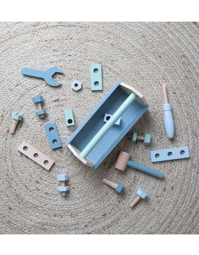 Little Dutch Boite à outils en bois - 20pcs
