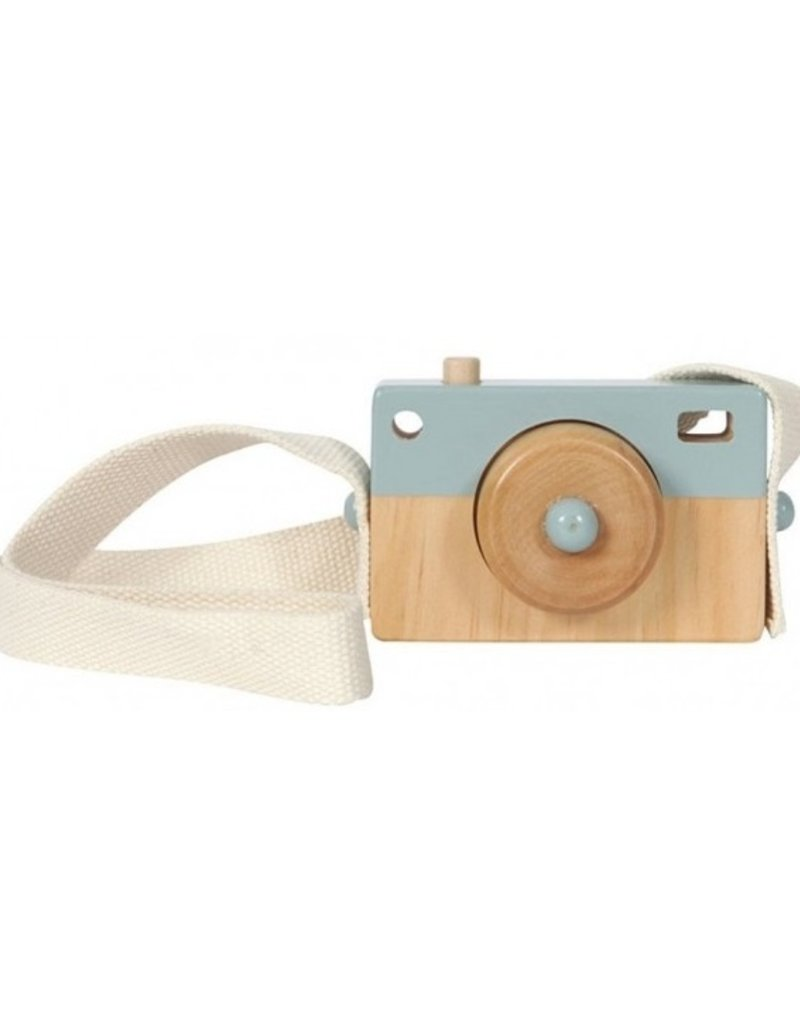 Little Dutch Appareil photo en bois - blue