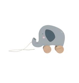 Little Dutch Jouet a tirer en bois - éléphant