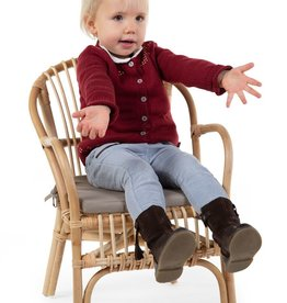 MONTANA KID CHAIR NATURAL + CUSHION