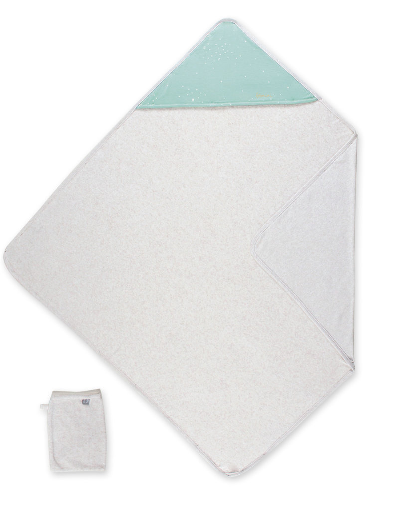 Cape de bain 90/90 cm terry +jersey FRIZY 21 tender