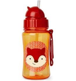 Zoo Straw Bottle Fox