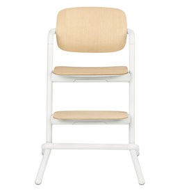 LEMO Chaise haute bois Porcelaine White | white