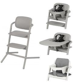 LEMO Chaise haute Storm Grey | grey