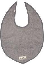 bavoir slab drop dijon steel grey