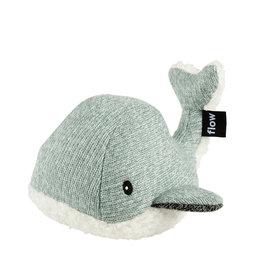 Flow Doudou battements de coeur-Moby the whale green