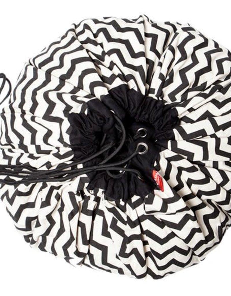 Play & go sac de rangement zig zag black