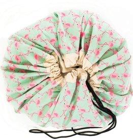 Play & go sac de rangement flamingo