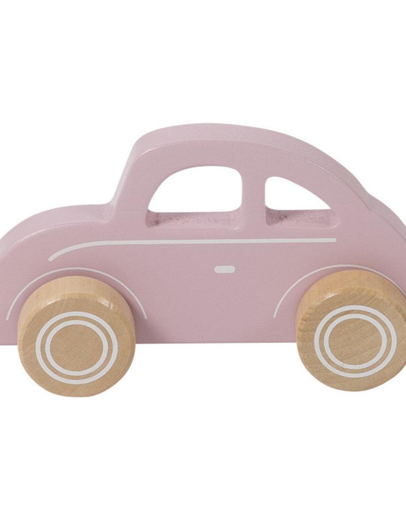 Little Dutch Voiture en bois -  pink