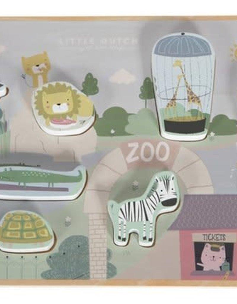 Little Dutch Puzzle - Zoo
