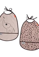 Done By Deer Bavoir 2 pièces Elphee Pink Done by deer