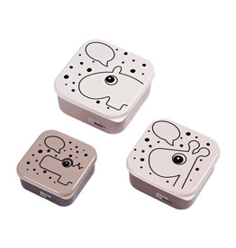 Done By Deer Snack box 3 pièces Pink