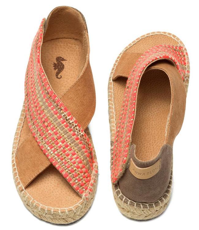 Anna Slow Golden Walk S Sandals