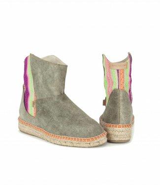 Anna Slow Sunny Garden Half Boot