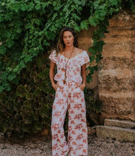 Hippy Chick Jazmin Long Jumpsuit