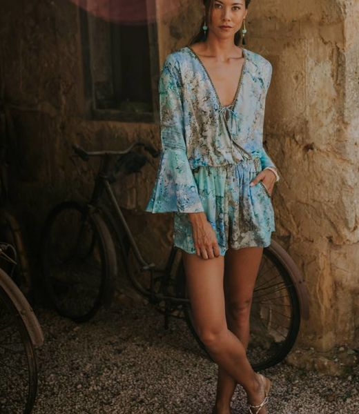 Hippy Chick Estrella Short Jumpsuit