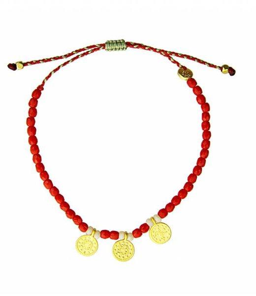 Sara Lashay Karma Bracelet Red