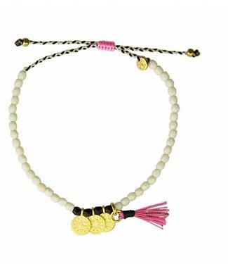 Sara Lashay Karma Bracelet White