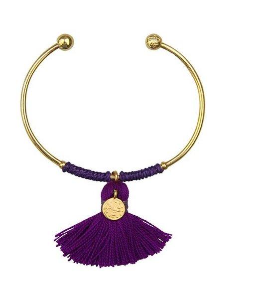 Sara Lashay Anna Bracelet Violet
