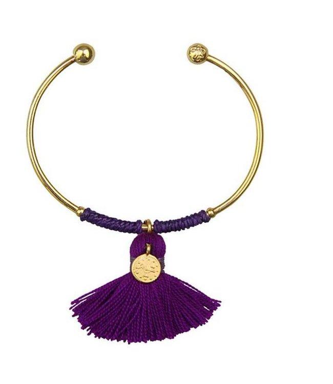 Sara Lashay Anna Armband Violett