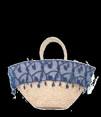 Thaikila Azul Semayawi Beach Bag/ Borsa