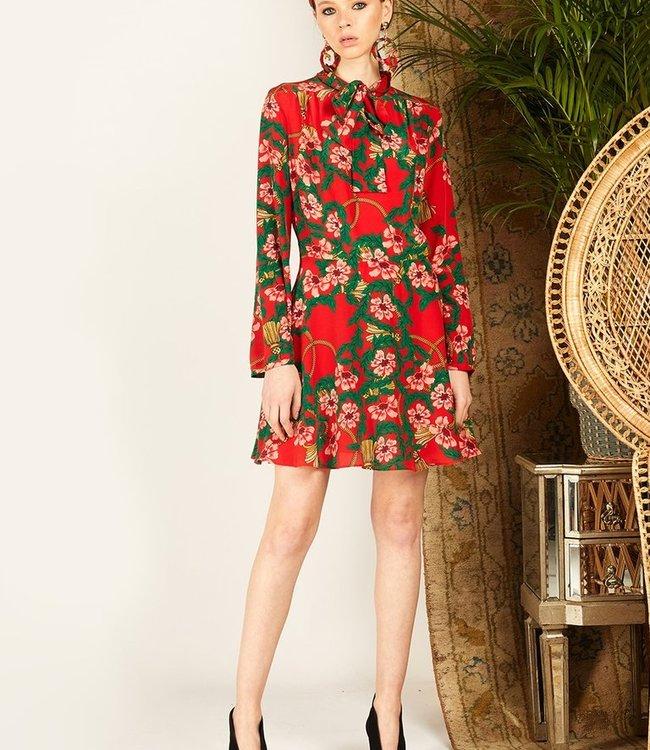 Hayley Menzies Eden Red Mini Dress