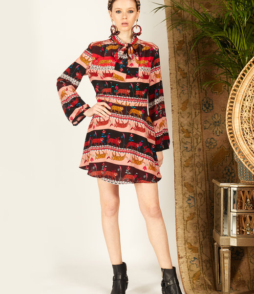 Hayley Menzies Eden Mini Kleid Tigress