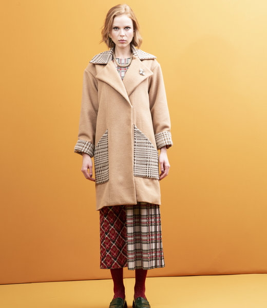 STMA by Stefania Marra Camel Wool Coat