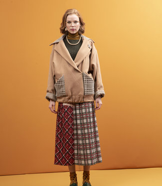 STMA by Stefania Marra Camel Wolljacke