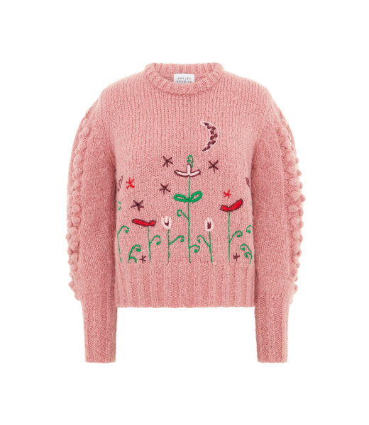 Hayley Menzies Jumper Gloria Rose Embroidered