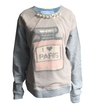 Michaela Buerger Sweatshirt I Love Paris
