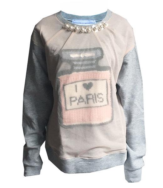 Michaela Buerger Sweatshirt I Love Paris