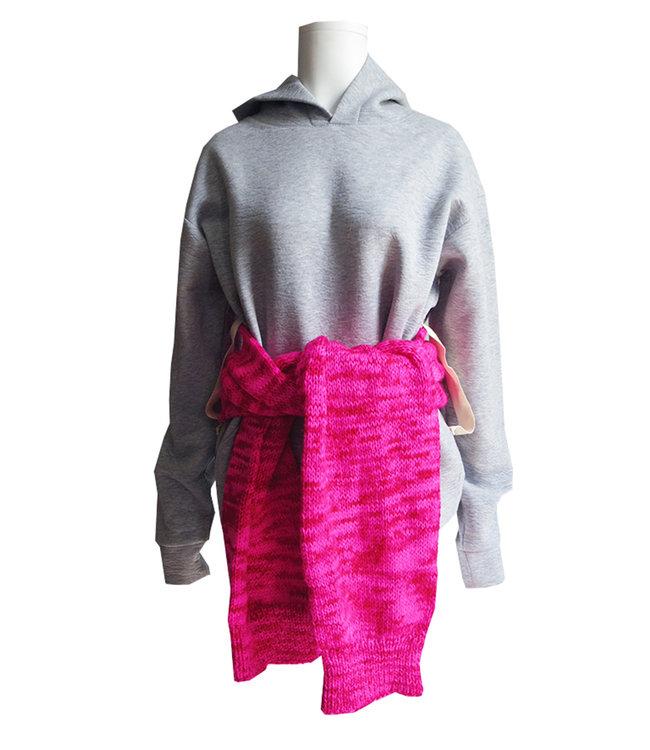 Michaela Buerger Hoodie Sweatshirt Grey