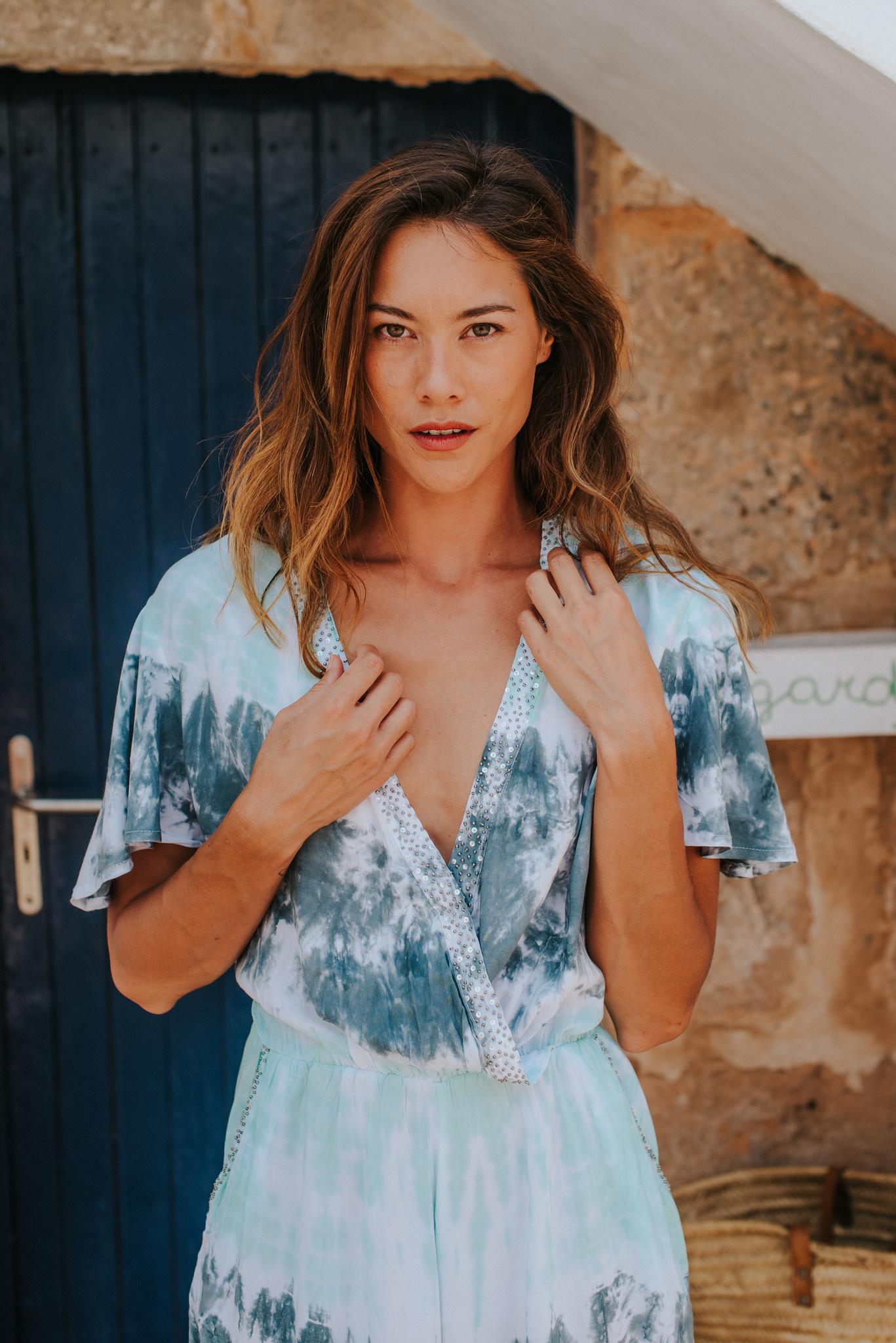 Ibiza fashion in hippie style