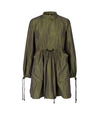 Stine Goya Nikita Dress - Seaweed Green