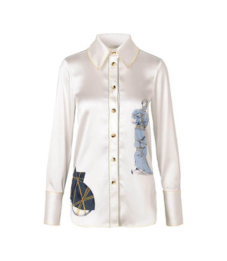 Stine Goya James Shirt - Objects White