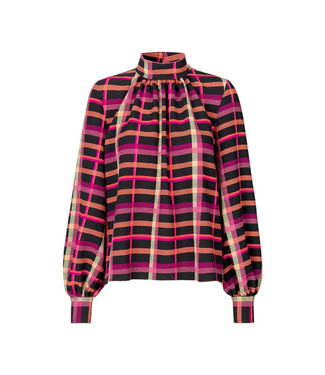 Stine Goya Eddy Top - Plaid