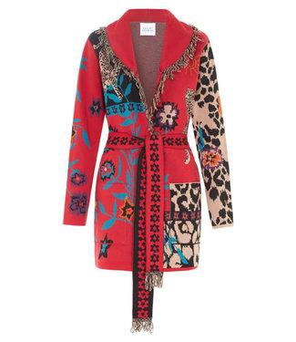 Hayley Menzies Enchanted Leopard Cotton Cardigan