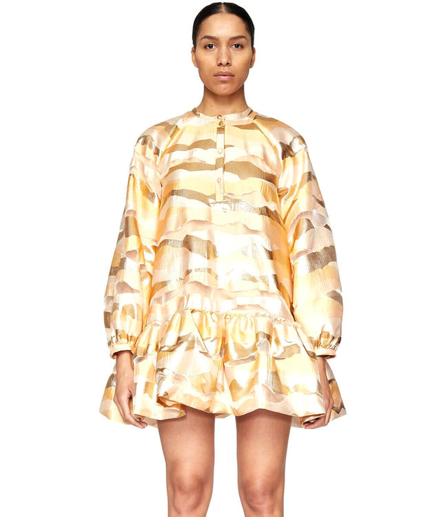 Stine Goya Josefine Dress - Horizon Gold